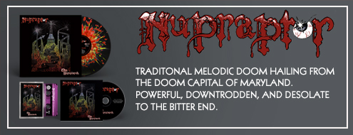 NUPRAPTOR - The Heresiarch