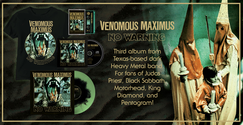VENOMOUS MAXIMUS - No Warning